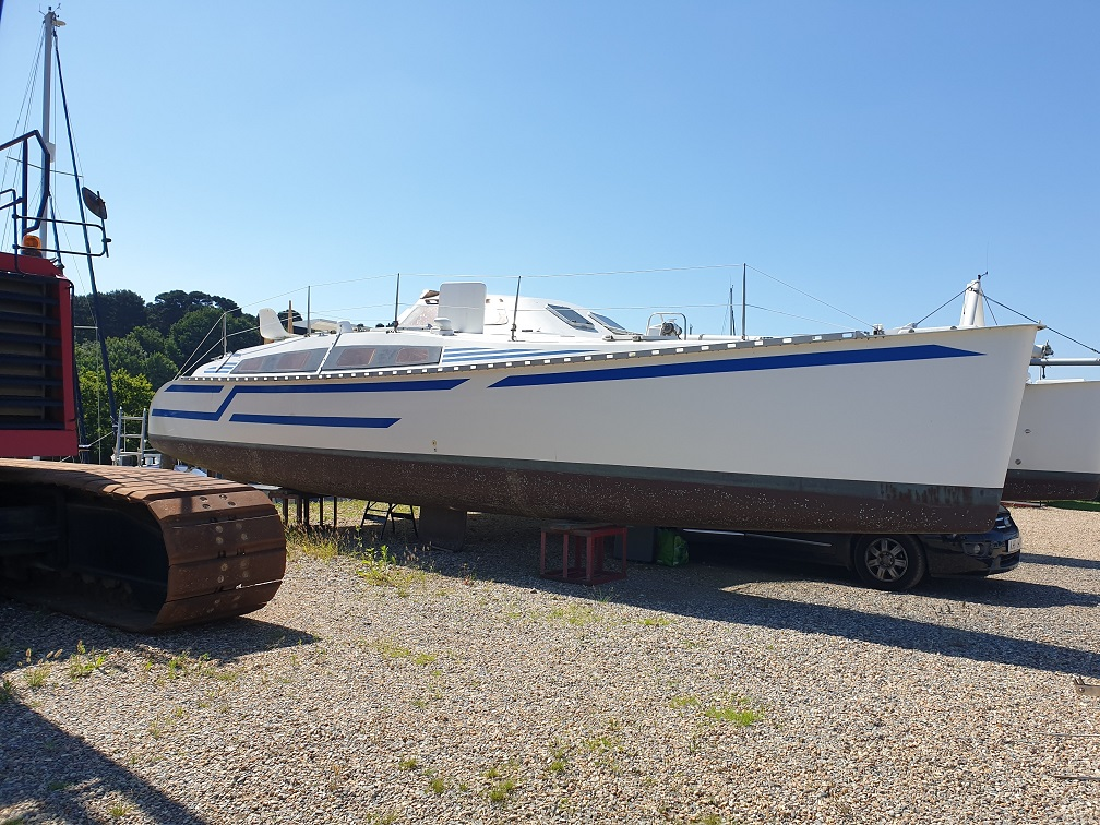 1988 Outremer 40